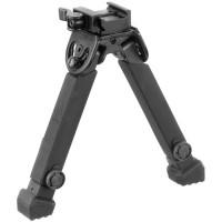 Сошки Leapers UTG Rubber Armored Full Metal регулируемые на антабочный винт и планку Вивера/Пикатинни