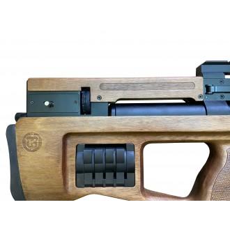 PCP винтовка Cricket WB (дерево) 6,35 мм в комплекте с насосом и адаптером